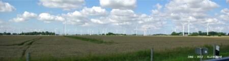 De Hemerlev à Tecklenburg-éoliennes