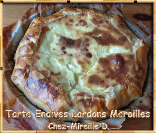 Tarte Endives Lardons Maroilles