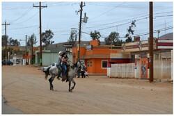 A cheval, mais au XXI siècle