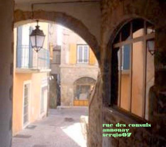 rue des consul annonay [