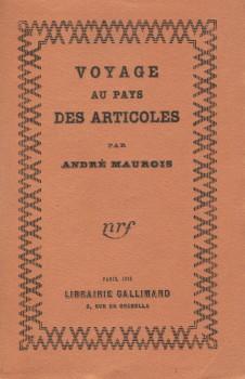 Voyage au pays des Articoles de Andre Mauroy