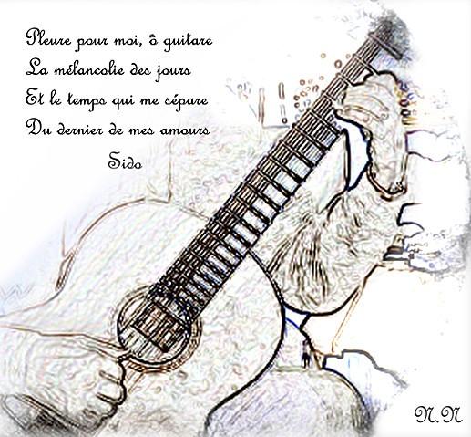 guitare mélancolie