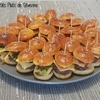 minis burgers boeuf-tomate-fromage