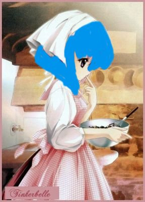 fille petite cuisinière