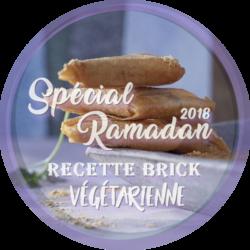Spécial Ramadan : Rcette de brick végétarienne