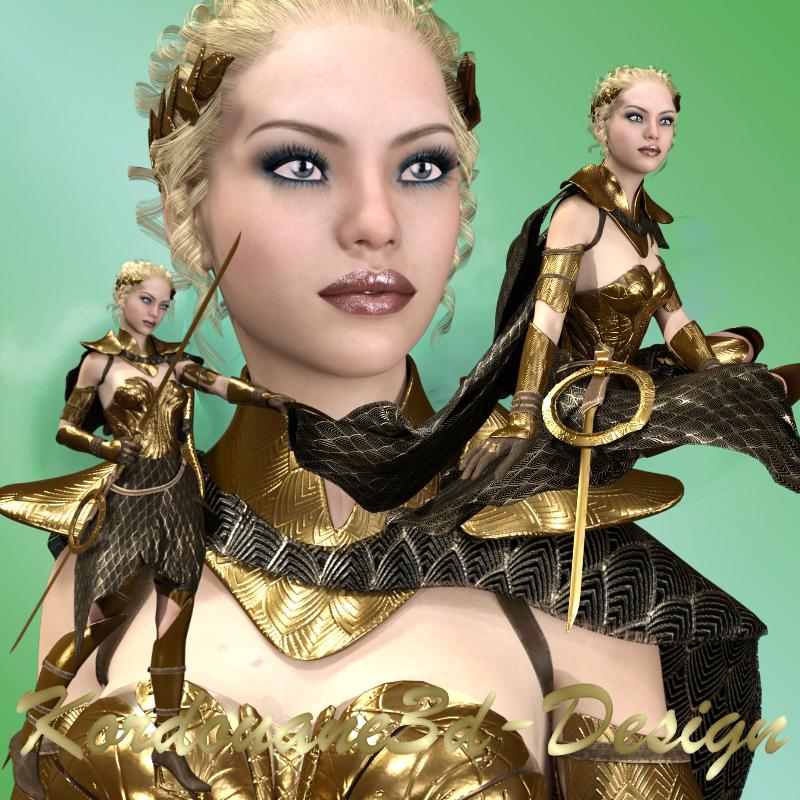 Minerva : Tube femme déesse (image-png)
