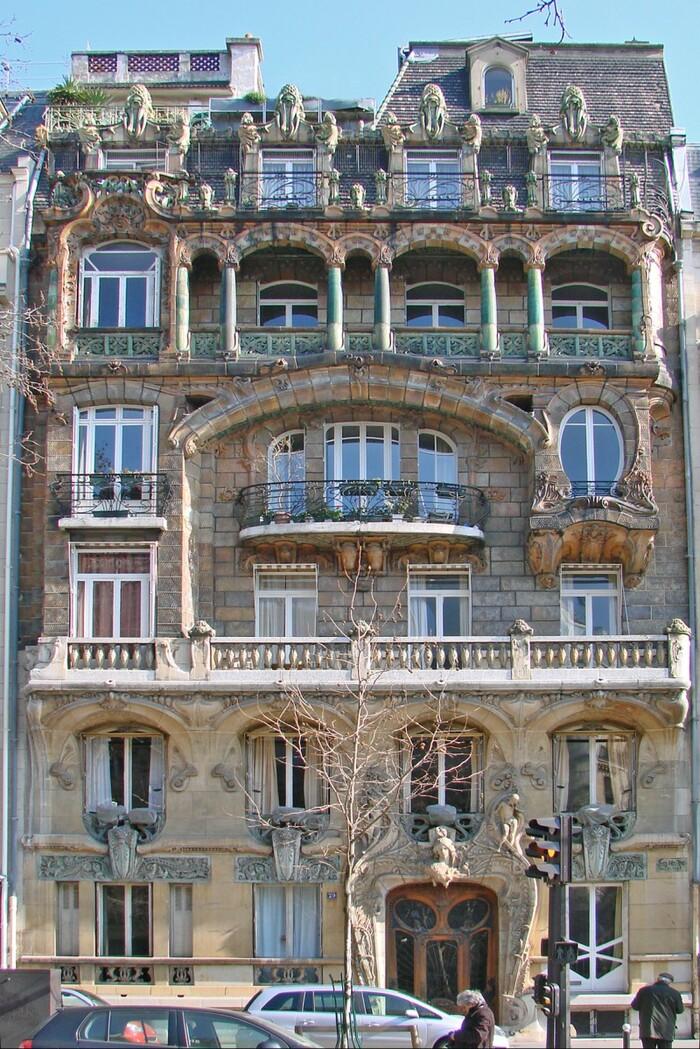 Les plus beaux immeubles Art nouveau de Paris
