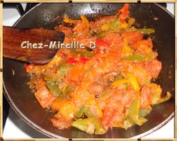 Frittata aux Tomates et Poivrons au Four
