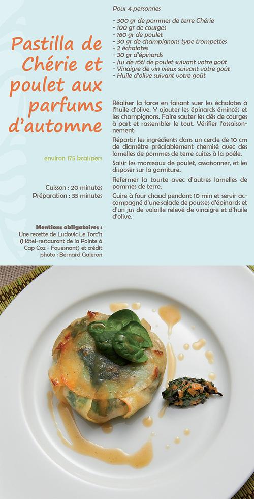 Pastilla de Chérie et poulet aux parfums d'automne