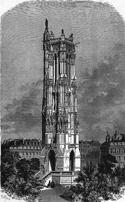 Tour saint Jacques de la Boucherie