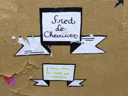 street-art Le Chevalier fresque 2