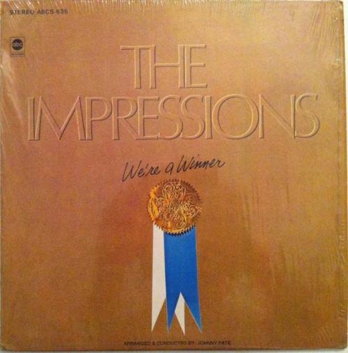 "1968 : Album "" We're A Winner "" ABC Records ABCS 635 [ US ]"