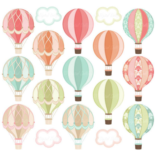 Motifs montgolfières