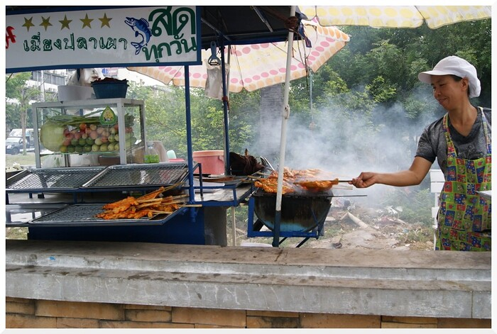 Photos de Thaïlande_13. Vendeurs des rues