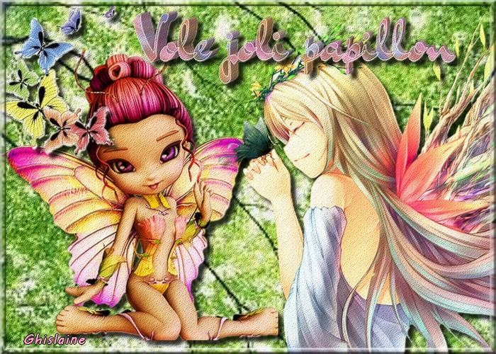 Défis Papillons chez Evy