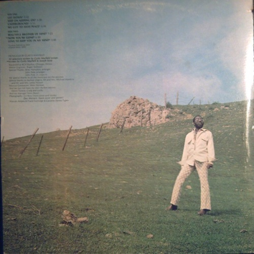 "1971 : Album "" Roots "" Curtom Records CRS 8009 [ US ]"