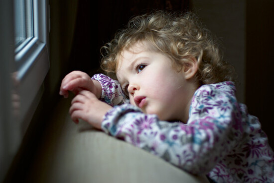 Tristesse enfantine