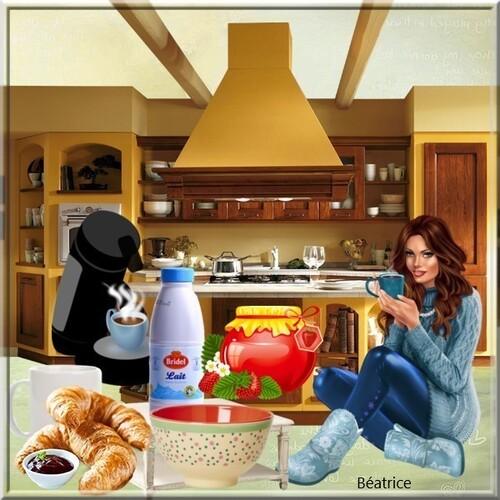 Défi Lara0011''petit déjeuner''
