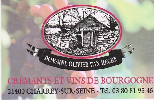 Le domaine Olivier Van Hecke à Charrey sur Seine