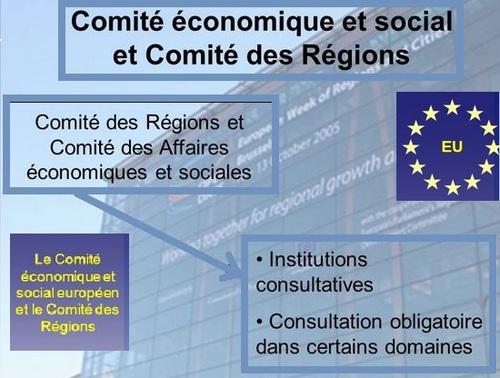 organes consultatifs de l'union européenne
