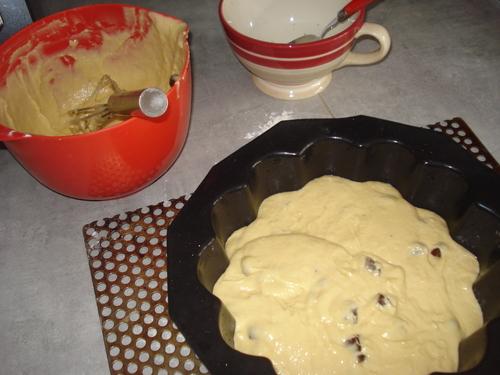 Un Cake Framboises Caramel
