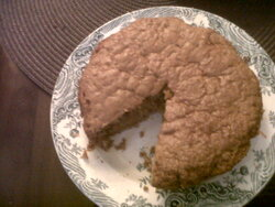 mon premier carrot cake !