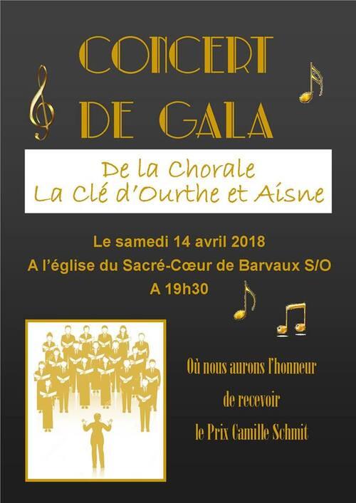 Concert de Gala à Barvaux