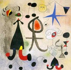 L'esprit enfantin de Miró