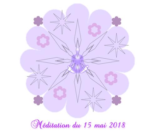 Méditation du 15 mai 2018