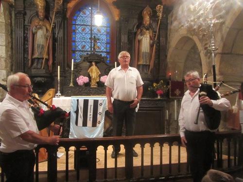 Les Sonerien confèrent à la chapelle un air de cathédrale