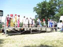 numéros de cirque pour la kermesse