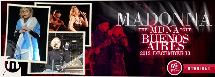 The MDNA Tour - Buenos Aires DEC13 - Pictures