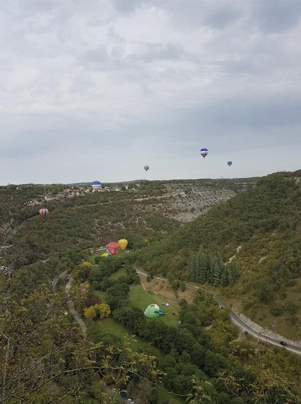 Mongolfiages de Rocamadour (septembre 2017)