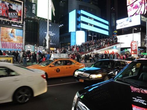NEW YORK 2016- Jour 2- Soirée sur Broadway