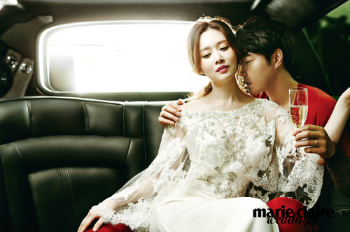 Yoon Sang Hyun et MayBee pour Marie Claire