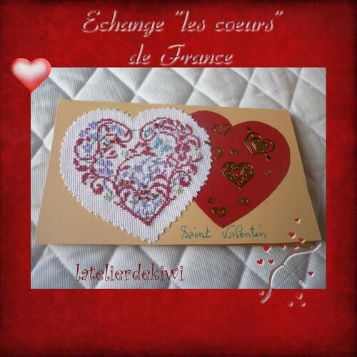 "Echange ""les coeurs"""