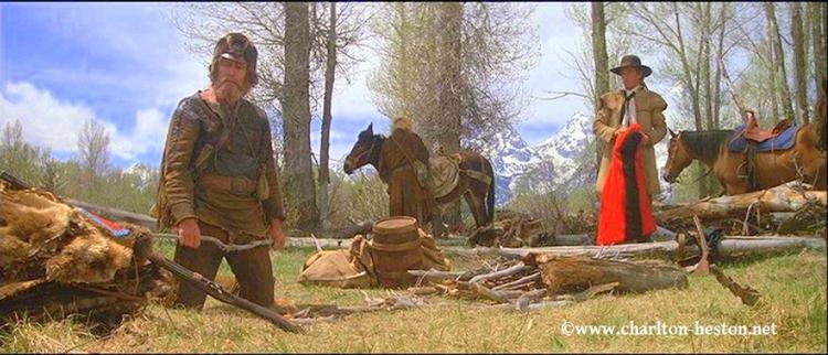 THE MOUNTAIN MEN ou LA FUREUR SAUVAGE (1980)