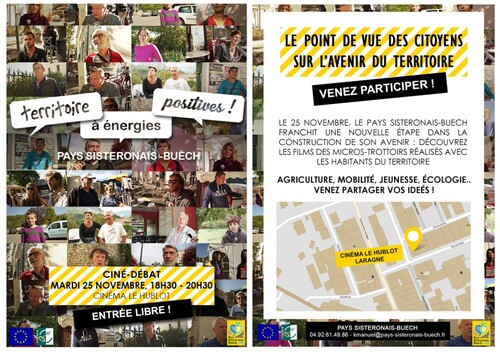 * Invitation ciné-débat | Laragne 25 novembre