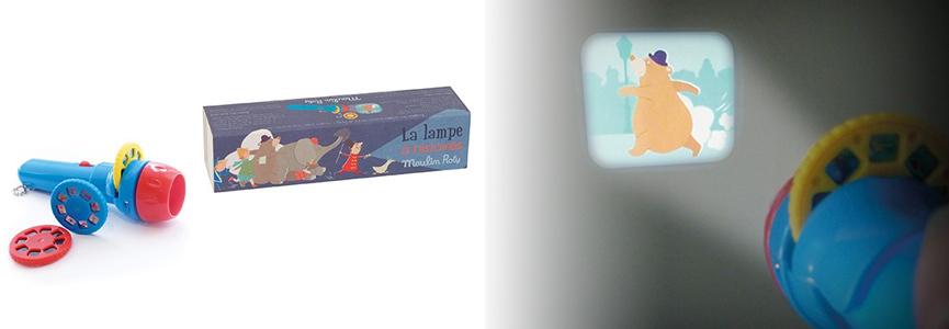 La lampe à histoires, pour développer l'imagination des 4-8 ans...