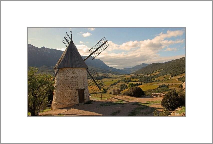Moulin de Cucugnan (Aude)