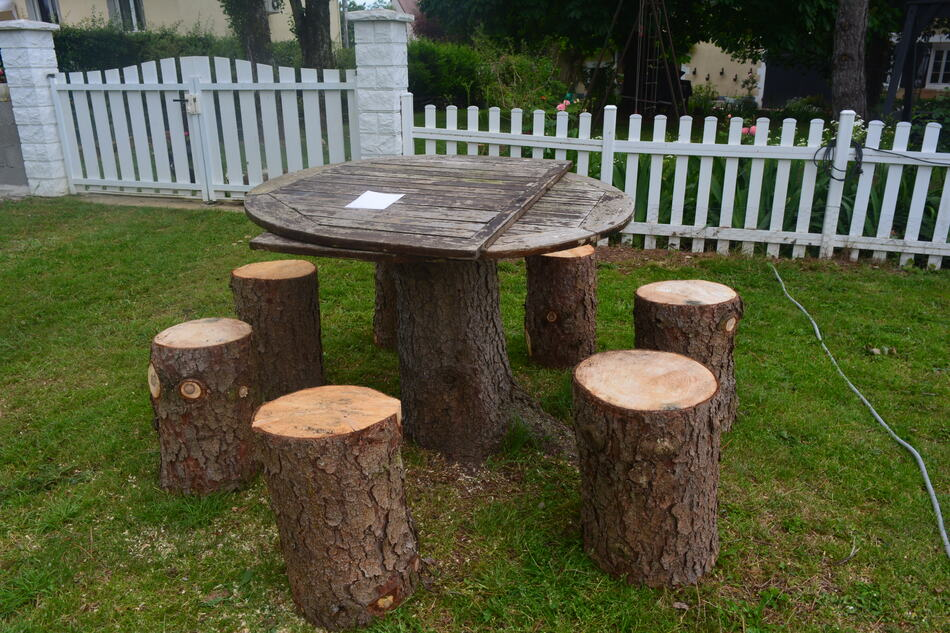 Une Table faite de Récup'