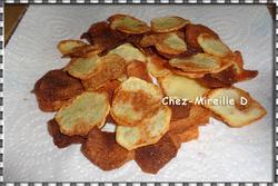 Chips Maison au Four (Ratées)