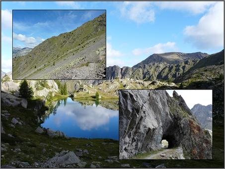 Haute Tinée : Des chemins de l'Energie au Mont Ténibre (2012)