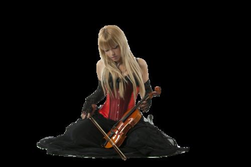 la violonniste