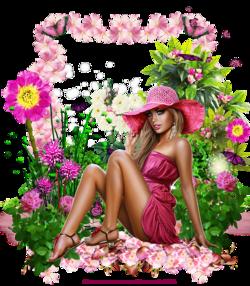 Horloge Jardin Fleuri Code inclu