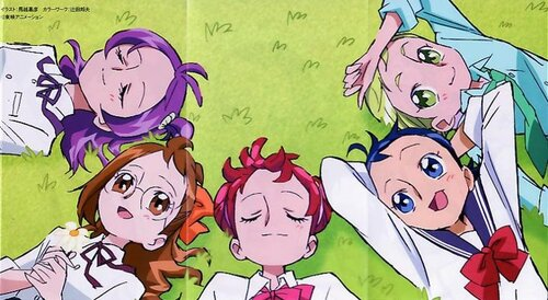 Illustrations Tomes Ojamajo Doremi 16!