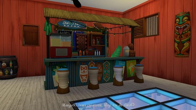 Les Sims 4 : La Résidence cabanes des pêcheurs