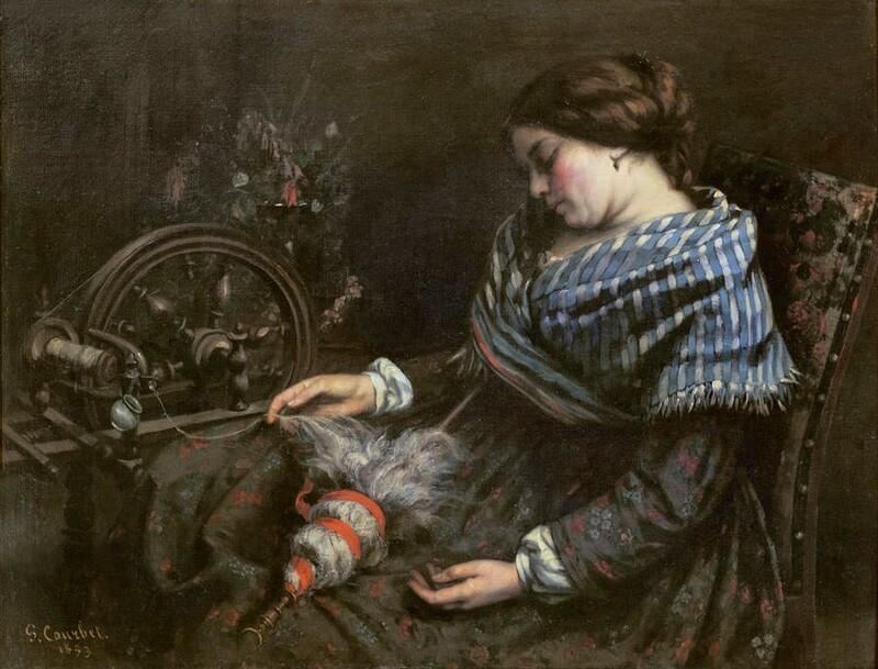 Courbet 5 /    1853-les baigneuses