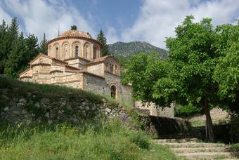 Mystra - l'eglise de St Theodoroi