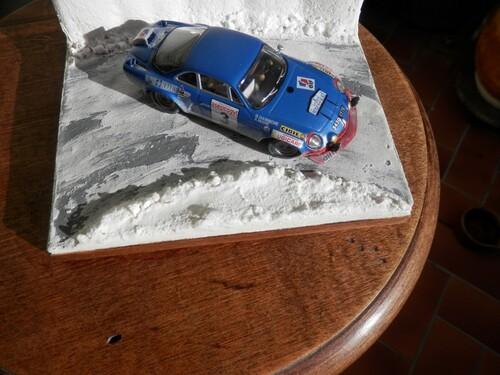 Alpine A 110 Criterium neige et glace 1972